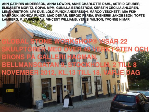 GLOBAL STONE WORKSHOP PÅ GALLERI HAGMAN